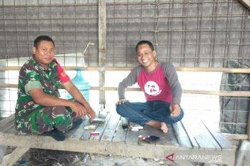 Babinsa Cikande ajak masyarakat budayakan hidup bersih
