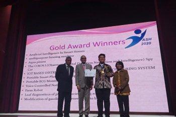 Putra Bupati Serang raih medali emas pada kompetisi sains di India