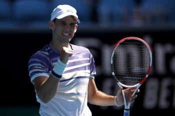Australia Terbuka: Dominic Thiem melenggang setelah dua kali gagal