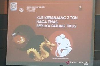 """Replika """"naga emas"""" siap meriahkan CGM di Pontianak"""