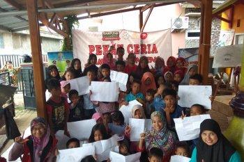 Kampung Dongeng Serang sebagai sarana sosialiasi, mendidik anak melalui dongeng