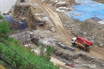 Bendungan Ciawi, progres pembangunannya capai 44,97 persen