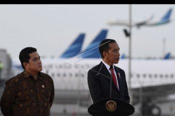 Presiden resmikan landasan pacu Bandara Soeta