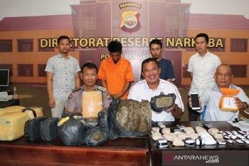 Polisi tangkap bandar ganja 40 kilogram jaringan lapas di Bengkulu