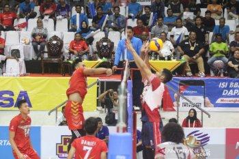 Proliga 2020: Samator harus bermain lima set saat jinakkan Jakarta Garuda