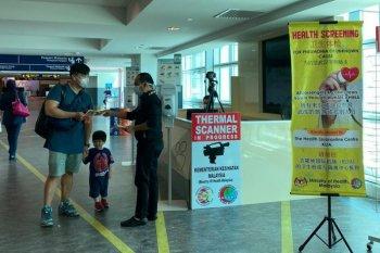 Pasien positif virus corona di Malaysia jadi empat orang