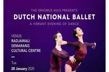 """Erasmus Huis dan Widya Mitra """"Unboxing Ballet"""" di RSCC"""