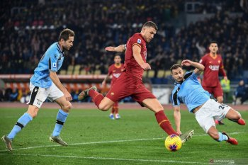 Liga Italia: Roma akhiri catatan 11 kemenangan beruntun Lazio