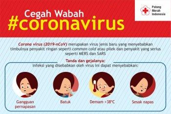 PMI sosialisasikan cara pencegahan dan bahaya virus Corona