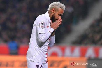Neymar persembahkan gol untuk Kobe Bryant
