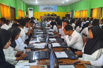 Sebanyak 2.442 peserta ikut tes SKD CPNS Pemkot Ambon