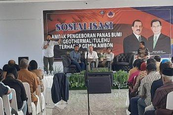 Pemkot Ambon sosialisasi dampak pengeboran geothermal di Tulehu terhadap gempa