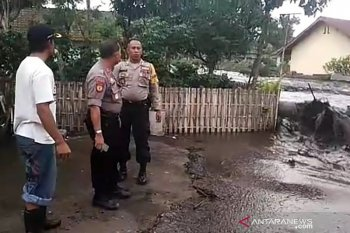 Flash flooding swamps numerous homes in Ijen, Bondowoso, East Java