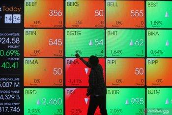 IHSG awal pekan melemah seiring  koreksi bursa saham global