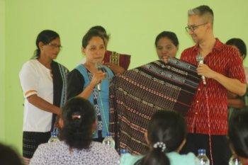 Inpex dan BI kembali gelar pelatihan pengembangan produk tenun Tanimbar