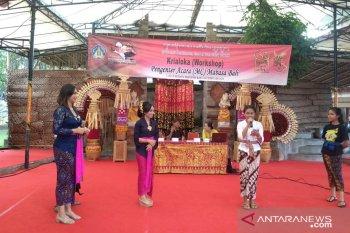 """""""Bulan Bahasa Bali 2020"""" beri kesempatan siswa berlatih jadi MC"""
