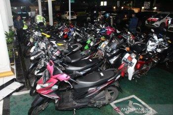 Puluhan kendaraan disita Polres Sukabumi Kota dalam sehari