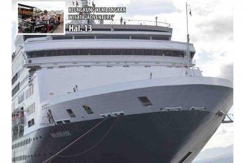 Berpenumpang 1.050 WIsatawan Kapal Pesiar Sandar Di Buleleng