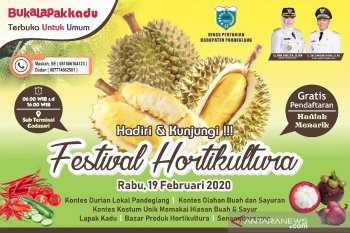 Distan Pandeglang Siap Gelar Festival Hortikultura 2020
