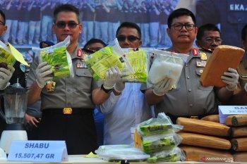 China penyuplai narkoba terbesar ke Indonesia