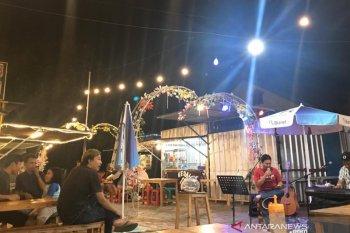 """Kampung Kuliner Kontainer"" wisata kuliner kekinian di Kota Serang"