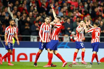Liverpool takluk di kandang Atletico