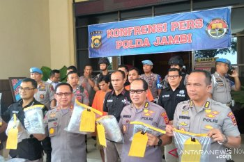 Polda Jambi deteksi puluhan jalur masuknya narkoba di perairan Jambi