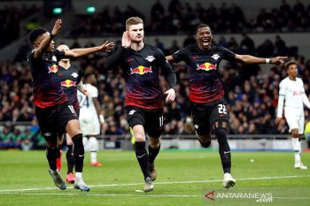 Liga Champions, Penalti Werner antar Leipzig curi kemenangan leg pertama di Tottenham