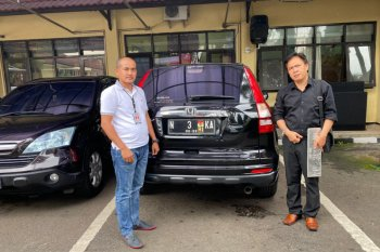 Bareskrim Polri amankan satu mobil CRV milik tersangka penipu Putri Arab