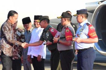 Pangdam I Bukit Barisan sambut kedatangan Presiden RI di Pekanbaru