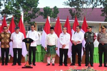 Pangdam I/BB dampingi Presiden Jokowi selama kunjungan di Riau