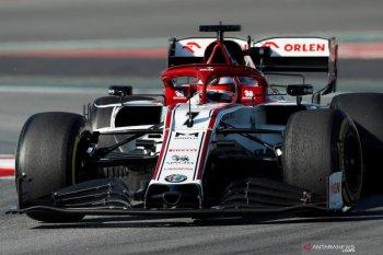 Raikkonen catat waktu tercepat di hari kedua tes Barcelona