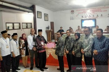 Pasangan Syamsul-Hendra serahkan 26.976 dukungan ke KPU Rejang Lebong