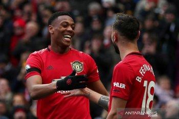Klasemen Liga Inggris: Manchester United tempel zona Champions