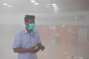 Polisi investigasi asap di Gedung DPR RI