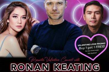 BCL dipastikan konser bersama Ronan Keating