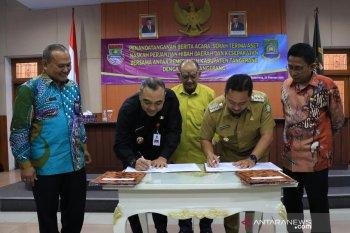 Pemkab dan Pemkot Tangerang serah terima aset daerah
