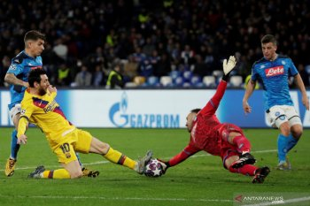 Barcelona amankan hasil imbang 1-1 di markas Napoli