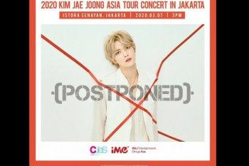 Khawatir corona, konser Kim Jae-Joong di Jakarta ditunda