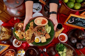 Libur akhir pekan, ada pasar wisata kuliner di Banyuwangi