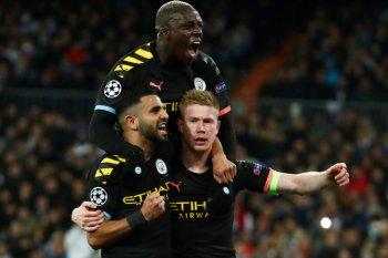 Menang 2-1 di kandang Madrid, City nyaman di leg kedua