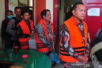 Tersangka korupsi pengesahan RAPBD Jambi divonis empat tahun penjara