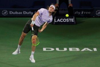 Tsitsipas tantang Daniel Evans di semifinal Dubai Open
