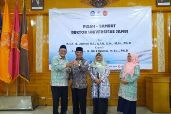 Prof Sutrisno komitmen lanjutkan perjuangan rektor pendahulunya