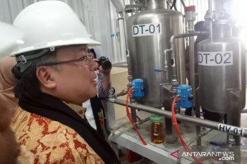 Menristek resmikan alat fraksinasi minyak nilam Aceh