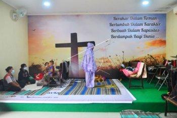Gereja Untuk Pengungsian Korban Banjir