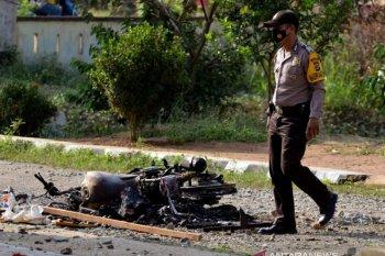 Pascapembakaran Polsek Candipuro Lampung Selatan