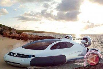 VW Aqua Melibas Salju, Air, Darat