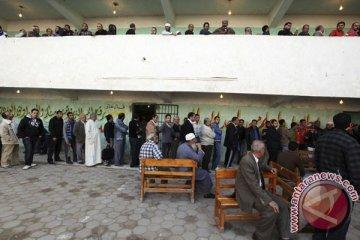 Rakyat Mesir berduyun ke bilik suara pascaMubarak