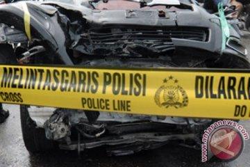Mobil tabrak tujuh motor, seorang pengendara meninggal